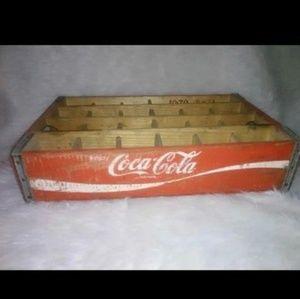 Coca Cola Wooden Crate 1970
